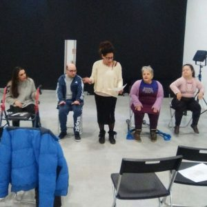 ensayos monica lamberti gala union de actores cristina medina